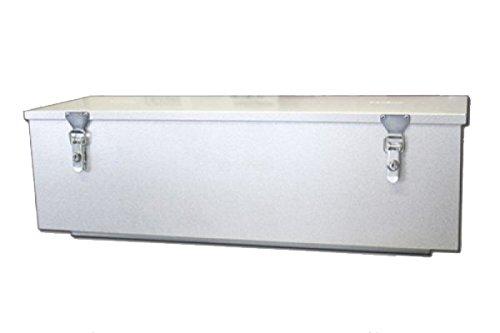 STEMA ZT00692 Deichselbox gross 67,5 Liter Volumen verzinktes Stahlblech