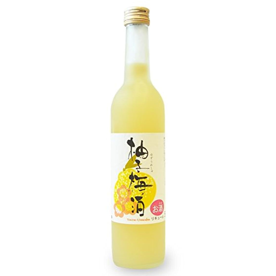 更新する弱まる処方するプラム食品 柚子梅酒(ゆずうめしゅ)500ml アルコール度数9%