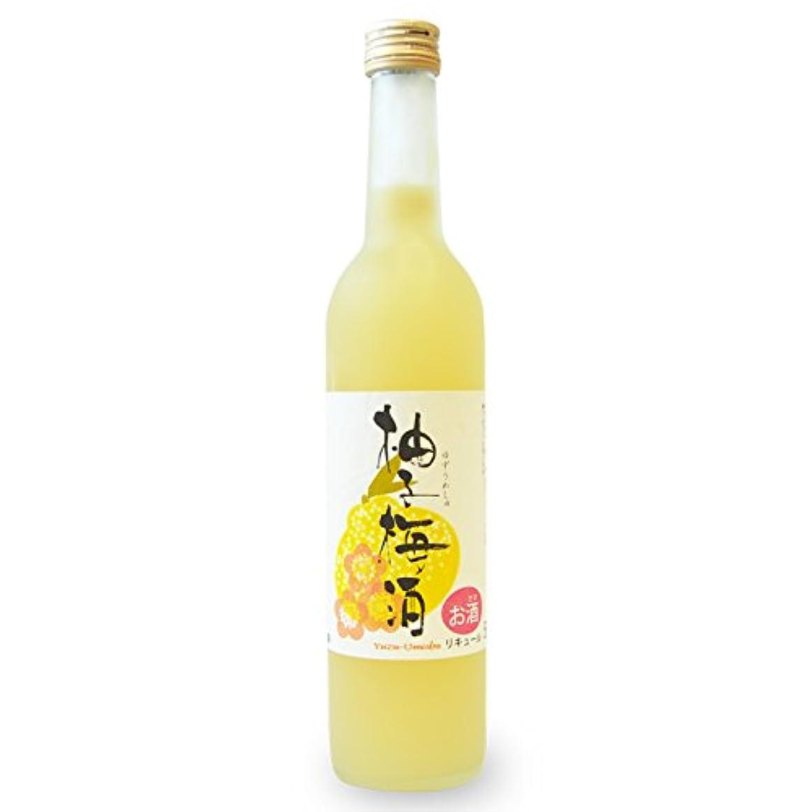 クループラスチック合理化プラム食品 柚子梅酒(ゆずうめしゅ)500ml アルコール度数9%
