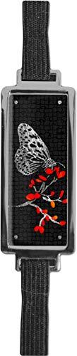 Schmucklesezeichen aus Metall mit gerader Kontur | Schmetterling #9922009
