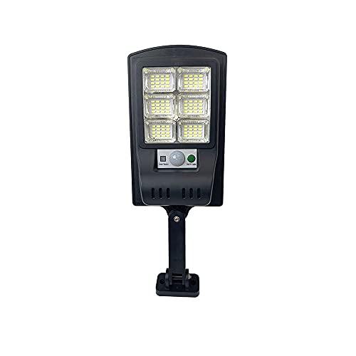 Ahzhlb Lámpara de Pared Solar al Aire Libre LED, Control de luz + lámparas de Control Remoto, IP65 Impermeable y a Prueba de Polvo, Cuerpo de plástico con luz de Vidrio Luces de escono para Patio