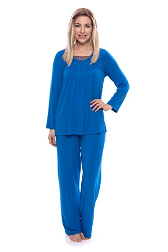 Womens Pajama Set (Tranquility); Texere Bamboo Viscose Eco Friendly Gift Apparel