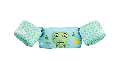 Stearns Original Puddle Jumper Kids Life Jacket | Deluxe 3D Life Vest for Children, Frog
