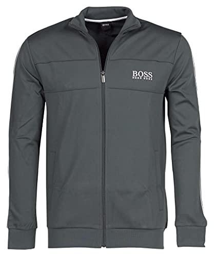 BOSS Tracksuit Jacket Chaqueta con cremallera, Dark Green308, S para Hombre