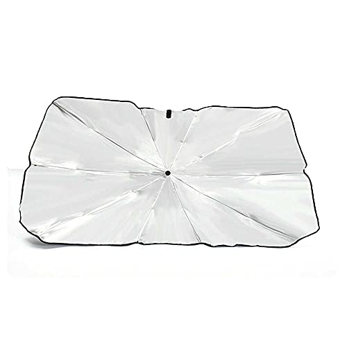 NASDIZL Parasol de Coche Parabrisas Parasol de Ventana de Coche Bloque de Parasol luz Solar Ultravioleta Mantiene el vehículo Fresco, Apto para Audi A6 (C7) A4 (B8) A7 A8 A8 L Allroad Q5 2013-2017 Q7