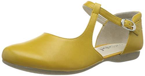 Josef Seibel Damen Fiona 65 T-Spangen Sandalen, Gelb (gelb 971 800), 38 EU