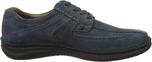 Josef Seibel Anvers 08, Zapatos de Cordones Derby Hombre, Color Gris, 50 EU