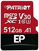 Patriot 64GB A1 / V30 Micro SD Card for Android Phones and Tablets, 4K Video Recording - PEF64GEP31MCX