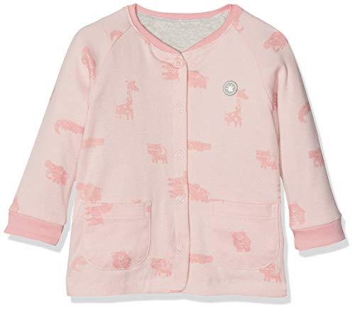 Sigikid Baby-Mädchen Wendejacke, New Born Jacke, Rosa (Peach Skin 628), (Herstellergröße: 68)