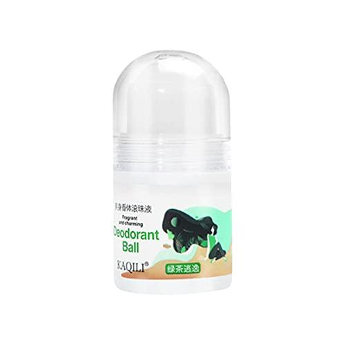 Desodorante Roll-on De Protección Antitranspirante para Hombre Cosmético Sin Aluminio, Sin Alcohol Y Sin Parabenos Protege contra El Sudor Y Los Olores para Una Sensación De Piel Seca