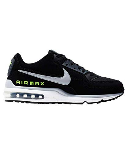Nike Herren Air Max Ltd 3 Sneaker, Black/Wolf Grey-Volt-Dark Grey