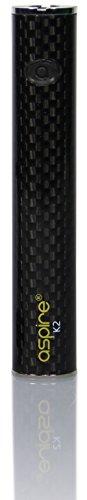 Aspire K2 Akku mit 800 mAh - Farbe: schwarz