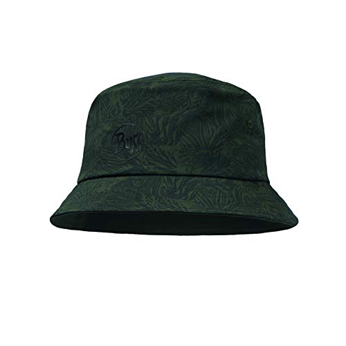 Buff Erwachsene Trek Cap, grün(Checkboard Moss Green), One Size