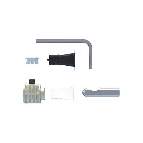 Fischer 551883 WB 9 LV Tasselli Sanitari Fissaggio Nascosto WC e Bidet Sospesi a Muro con Accesso Laterale o dall'Alto