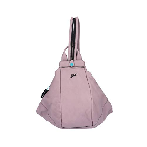 GABS Greta M Zaino Trasformabile in Pelle Soft Rosa Donna 34x31x26 cm