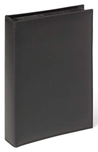 Walther design Memo-Album De Luxe, schwarz 200 F. 13x18 cm
