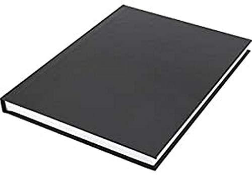 Skizzenbuch Kangaro A5 blanko mit schwarzem Hardcover, 80 Blatt 100g