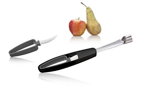 Tomorrow's Kitchen 4663360 Vide pomme/couteau en Acier Inoxydable Gris 25 x 10 x 10 cm