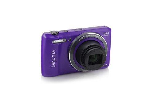 Minolta MN12Z OIS 12x Zoom Wi-Fi Digital Camera (Purple)