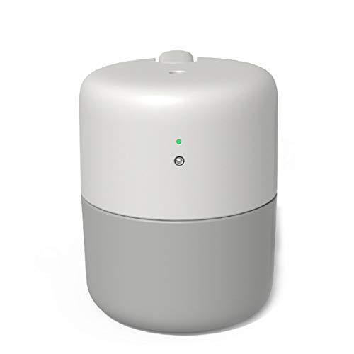 JiuXiuHeiShan-MY Umidificatore 420ML Desktop USB Silenzioso Purificatore d'Aria Grande Volume Spruzzatore Touch-Switch Intelligente Design Anti-Dry per La Casa,Bianca