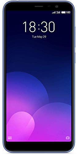 Meizu M6T Smartphone 5,7 Zoll IPS Display (2GB + 16GB, Blue)