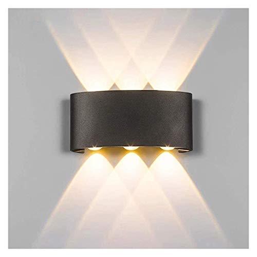 PQQ Lámpara de Pared Lámpara de Pared LED Moderna Luz de luz Interior Luz de luz Lecho de Cama Laver Sala de la Cama hacia Abajo Down Home Hallway 6W Wall Sconence