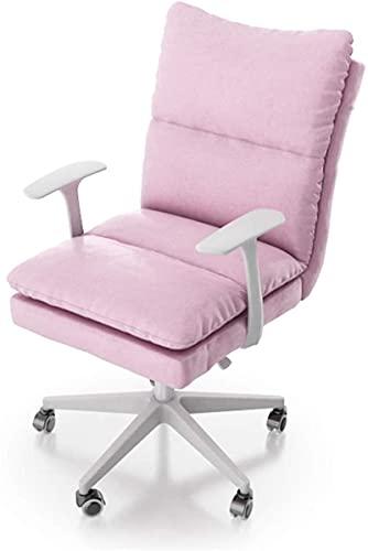 LSLY Gaming Chair Bürostuhl, Heimcomputerstuhl mit Armlehnen, ergonomischer Drehstuhl, Student Study Writing Chair