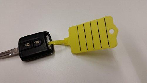 powerpreis24de 200 KFZ Werkstatt Schlüsselanhänger versch Farben mit Marker Profiware von MD (Blau)