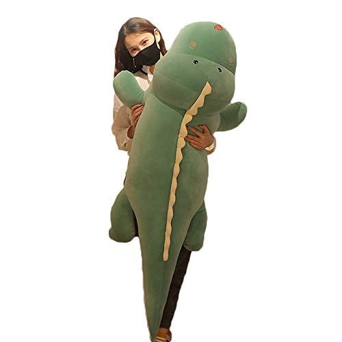 Dinosaur Plush Hug Pillow,Soft Big Dinosaurs Stuffed Animal Toy Doll Gifts for Kids Birthday,Valentine,39.3 inch