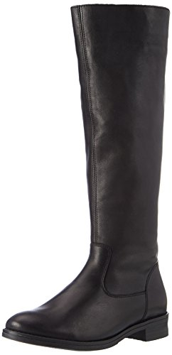 Remonte Damen D8582 Hohe Stiefel, Schwarz 01, 39 EU