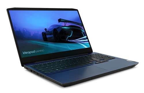 Lenovo IdeaPad Gaming 3 Notebook, Display 15.6' Full HD IPS, Processore Intel Core i5-10300H, 512 GB SSD, RAM 8 GB, Scheda grafica GTX 1650 Ti 4 GB GDDR6, Windows 10, Chameleon Blue