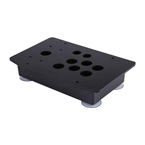 (アウプル) DIY ファイティングスティック アーケードセット アーケードゲーム アクリルパネル+ボトムボックス 交換キット