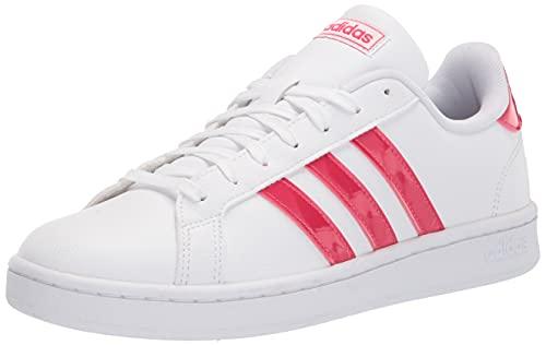 adidas Grand Court - Zapatillas de Deporte para Mujer, Color marrón y Blanco, Color, Talla 40 EU