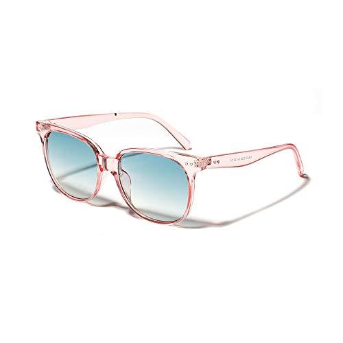 RUIXIAO Gafas de Sol de Mujer Rosa con Montura de Color Caramelo...