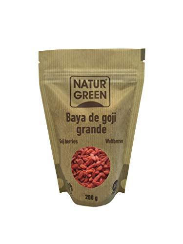NaturGreen Bayas de goji deshidratadas -...