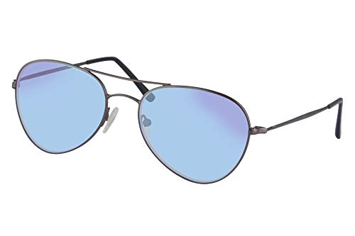 SHINU Rot Gruen Farbenblinde Brille zum Damen und Herren mit Rot Gruen Blindheit Farbe Vision Stoerung-CB72002(rollen)