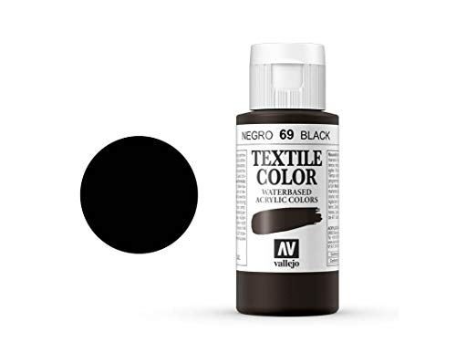 Textile Color Opaco 69 Negro 60ml