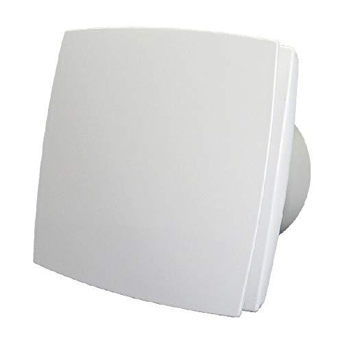 Vlano 100 AV TH automatische Verschlussklappe Lamellen TIMER HYDRO Feuchtigkeitssensor Haus-Lüfter Ventilator WC Bad-Lüfter Permanente oder Intervalllüftung (Ø 100 AV TIMER HYDRO)