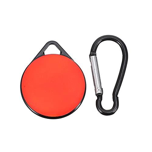 ibasenice Repa- Resistent Locator Case Tracker Täckskydd Shell Med Krok ( Röd )