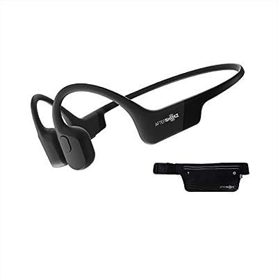AfterShokz Aeropex Open-Ear Wireless Waterproof Bone Conduction Sports Running Headphones,Cosmic Black by SHENZHEN VOXTECH CO.,LTD