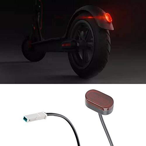 Atuka LED feu arrière feu Stop feu arrière pour Xiaomi Mijia m365 Accessoire de Rechange de Scooter électrique