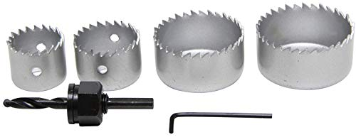 Preisvergleich Produktbild Kraftmann 50310 / Lochsägen-Satz / Ø 32 - 54 mm / Tiefe 24 mm / 6-tlg.