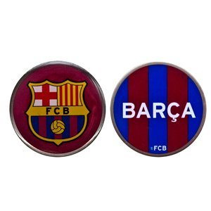 BARCELONA DOUBLE SIDED GOLF BALL MARKER, OFFICIAL MERCHANDISE FROM PREMIER LICENSING. by...