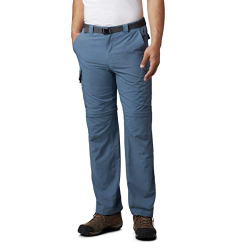 Columbia Men's Silver Ridge Convertible Pant, Breathable, UPF 50 Sun Protection, Mountain, 34x32