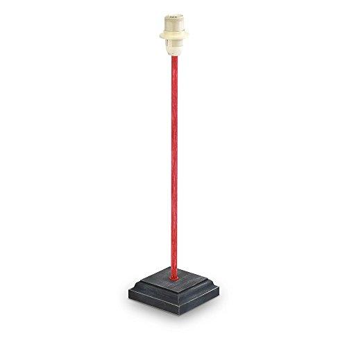 Eglo TL-Fuss/1 Lámpara de Pie E14, 40 W, Rojo