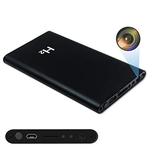 KAMREA Mini Überwachungskameras, HD1080P 5000mAh Versteckte Kamera Videorecorder Powerbank Kamera Nanny Cam für Sicherheit zu Hause und im Büro