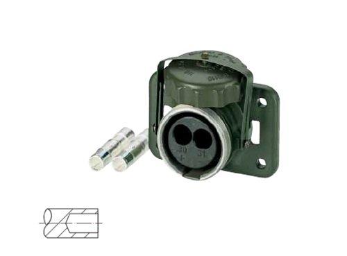 Elektrikbedarf Installation/Stecker Steckdosen/Stecker/Steckdosen 2polig–Die Ausgang NATO-2pole-Oliva 35qmm VG96917151208