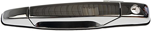 Dorman 80546 Front Driver Side Exterior Door Handle for Select Cadillac / Chevrolet / GMC Models, Chrome , Black