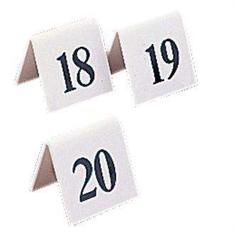 20 Restauration L982 Table Nombre de chiffres 11–20, en plastique (Lot de 10)