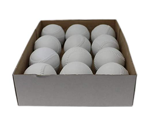 BARNETT A-122 - Blanc - Balle de Baseball Entrainement pour Machine à Lancer, Taille 9'', 1...